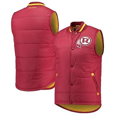 f969ccdd40f Washington Redskins Mitchell   Ness NFL Amazing Catch Vest - Burgundy