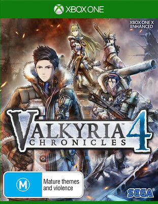 Valkyria Chronicles 4 Launch Edition  - Xbox One game - BRAND NEW