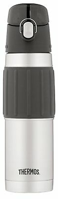 Thermos Vacuum Insulated 18 Ounce Stainless Steel Hydration Bottle, Stainless St