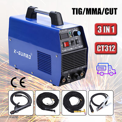 3in1 Plasma Cutter TIG MMA Welder Cutting Welding Machine CT-312 CT312 Blue