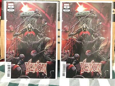 Venom #3 2018 3Rd Print 1St Knull God Of The Symbiotes Nm Cates Stegman Lot Of 2