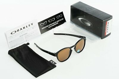 28cee740e6 Oakley Latch Matte Black with Bronze Polarized OO9265-07 Frogskins Supreme