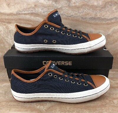 ce772a6d12c6 Converse All Star Chuck Taylor Dark Navy Premiere Ox Mens Shoes Sneakers