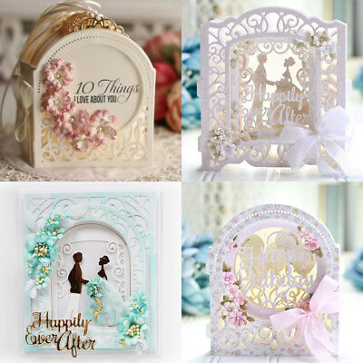 Metal Cutting Dies Stencil Scrapbooking Embossing Card Paper Craft Build Up Box