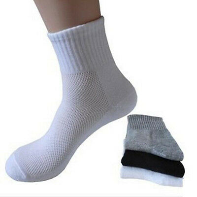 5Pairs High Quality Men Outdoor Sports Cotton Socks Business Casual Ankle Socks