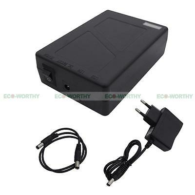 12V DC Rechargeable Li-ion Battery Pack for CCTV Camera 2800mAh Lithium-ion New