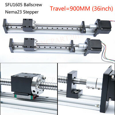 36inch Sliding Table Electric Linear Rail Guide Stage Module for CNC XYZ Axis