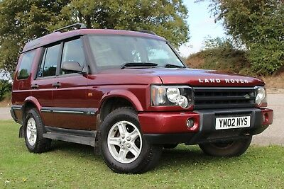 2002 Land Rover Discovery 2.5 TD5 S 7 Seater
