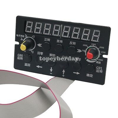 CNC Control Panel CNC Machine Part for Full Closed-loop Stepper Motor Controller