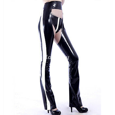 100% Latex Rubber Fashion Freizeithose Handsome Tight Pants 0.4mm size S-XXL