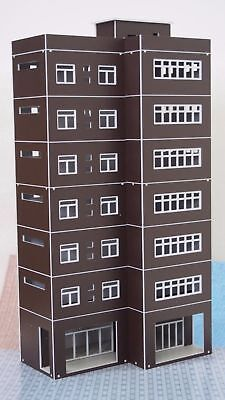 Outland Models Train Railway Modern Tall Business Building Office HO Scale 1:87