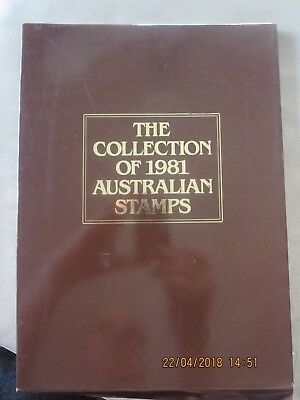 The Collection of 1981 Australian Stamps