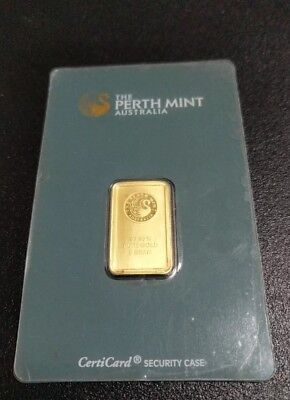 Perth Mint 5g Gold Bullion Bar