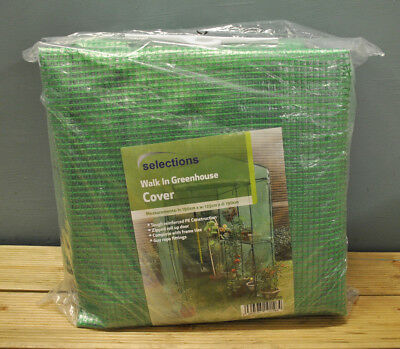 Walk-in Mini Greenhouse Reinforced Replacement Cover