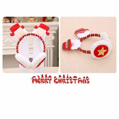 Christmas Headband Earmuffs Christmas Decoration N2