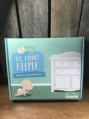 KITLY Cabinet Keeper Magnetic Baby Locks – Proof Drawers Cabinets Doors for and