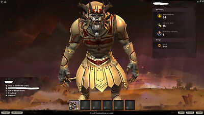 Guild Wars 2 Account - PoF Deluxe Version - 3x Mount Skins - 290 Gold