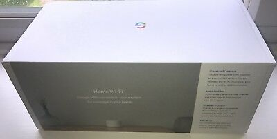 Google Whole Home Mesh WiFi System – Pack of 2 - Marginally Used
