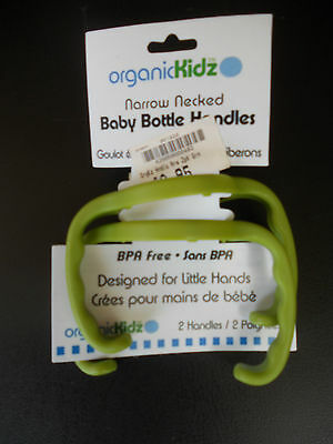 OrganicKidz Narrow Necked Baby Bottle Handles  Organic Kidz  New in pack