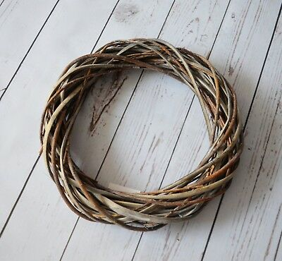 Natural Wicker Wreath 30 cm Christmas Occasions Weddings Celebrations