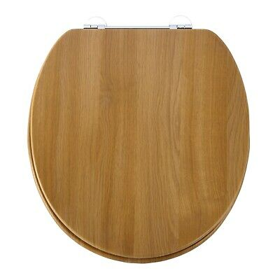 Marvelous Verona Wooden Soft Close Toilet Seat With Chrome Fittings Uwap Interior Chair Design Uwaporg