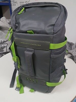 "HP Odyssey Sport Backpack for 15.6"" (39.6 cm) Laptop Grey/Green"