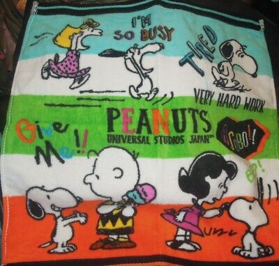 Snoopy & his Friends Hand Towel (35 * 34cm)
