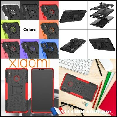 Etui Coque housse Antichocs Shockproof Heavy duty TPU Combo Case Xiaomi Mi Max 3
