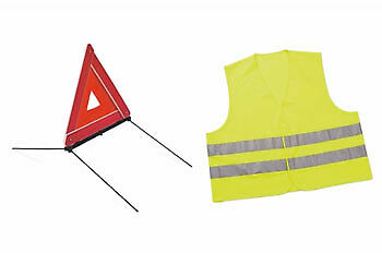 Genuine Peugeot 2008 Warning Triangle and Safety Vest - 946830