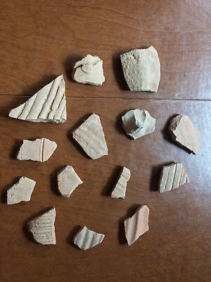 Ancient pottery shards pieces Holy land Israel archeology biblical times #2