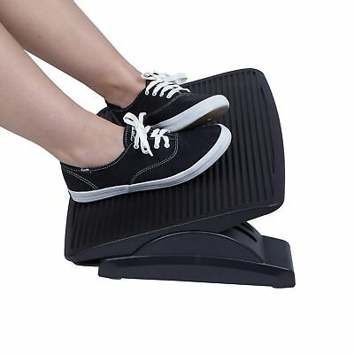 Mind Reader Adjustable Height Ergonomic Foot Rest, Black FREE2DAYSHIP TAXFREE