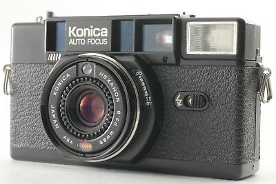 **EXC+++++** KONICA AUTO FOCUS C35 AF2 35mm Film Camera from Japan #375