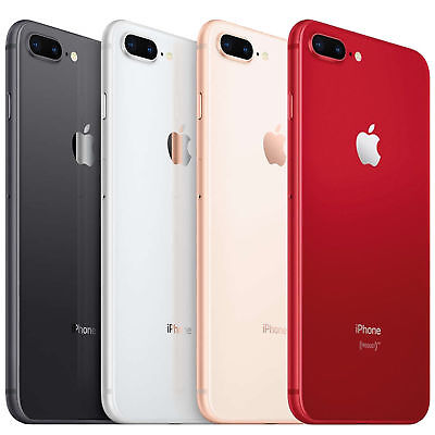 APPLE iPhone 8 PLUS UNLOCKED 64GB / 256GB  SPACE GRAY / RED / GOLD / SILVER  8 +