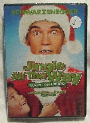 Jingle All The Way : Family Fun Edition (DVD, 1996, 2007) Brand new
