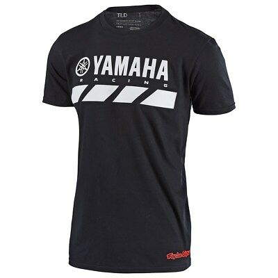 Yamaha Men's RS2 Tee by Troy Lee Designs® - Black - Size - XL - Brand New
