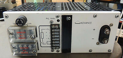 Advance (Farnell) MG15-24C 15 volt 24 Amp Power supply Nice! Tested & Working,