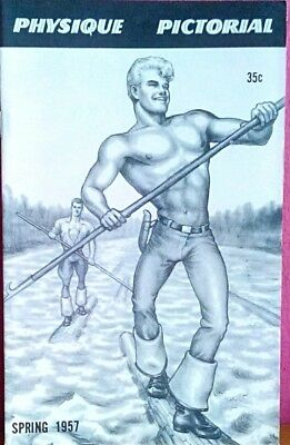 Physique pictorial Spring 1957 vintage Gay magazine