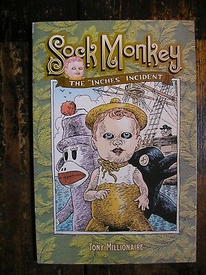 Sock Monkey The inches Incident (New Paperback)