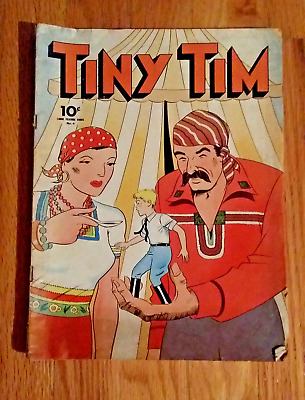 Tiny Tim #4 Series Ii Large Feature Comic Dell 1942  Vg To Fn