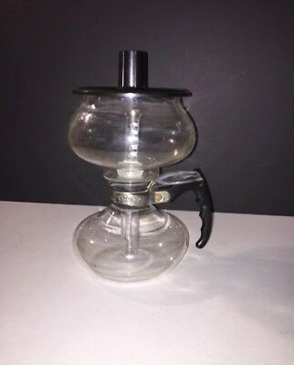 Vintage Cory Dru Glass Coffee Brewer Pot W/glass Filter Rod