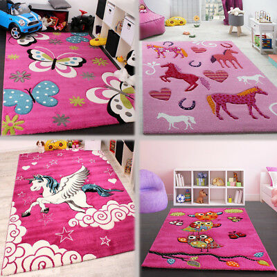 Pink Kids Rugs S Bedroom Carpet