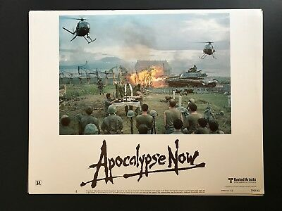 APOCALYPSE NOW Original 1974 U.S. 11x14 US Lobby Card Full Set (8) Marlon Brando