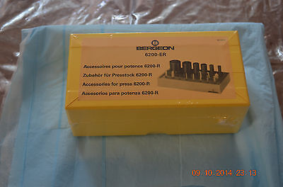 Bergeon Bushing Tool Accessory 21 tools for 6200- ER ONLY for  project