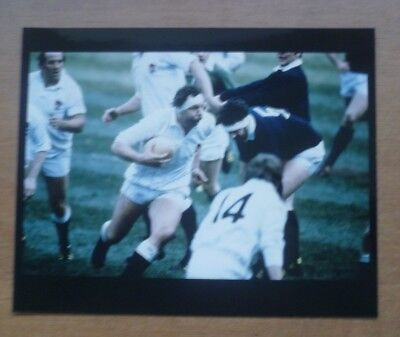 Bill Beaumont (England) 1975-82, Signed Photograph (10'' x 8'').