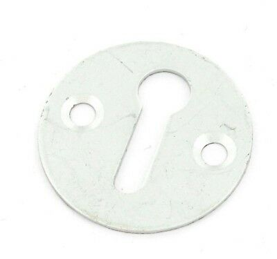 Keyhole Cover Aluminium Plain Escutcheon Key Covered Plate Door Lock Cylinder