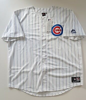 MAJESTIC CHICAGO CUBS MLB Official Baseball Jersey Shirt Authentic Men's XXL