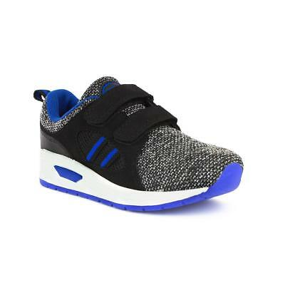Mercury Boys Black and Blue Sporty Trainer - Sizes 10,11,12,13,1,2,3,4,5