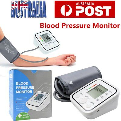 Digital Blood Pressure Monitor Upper Arm BP Machine with Voice Function O5