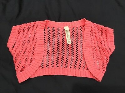 Cherokee xs cover up 4-5 pink color
