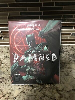 BATMAN DAMNED 1 Cover B First Printing Nude Panel  Batman DC 2018 Black Label